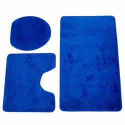 Flora Soft 5405 3'lü Klozet Takımı - Saks Mavi