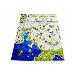 İvi Mini City Çocuk Halısı - 134x180 cm