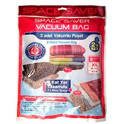 Space Saver Vakumlu 2'li Saklama Torbası