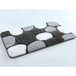 İrya I.Boya Gravel Banyo Paspası (Siyah) - 70x120 cm