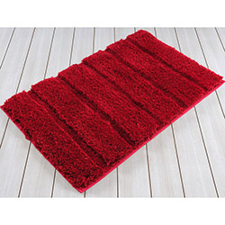 İrya Premium Banyo Paspası (Kırmızı) - 60x90 cm