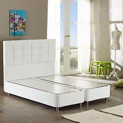Monnowell Deppo Box Baza (Beyaz) - 100 x 200 cm