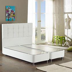 Monnowell Deppo Box Baza (Beyaz) - 140 x 200 cm