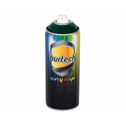 Burtech Selülozik Sprey Boya (Yeşil) - 400 ml