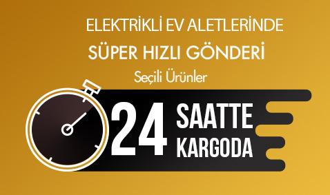 Elektrikli Ev Aletlerinde 24 Saatte Kargo