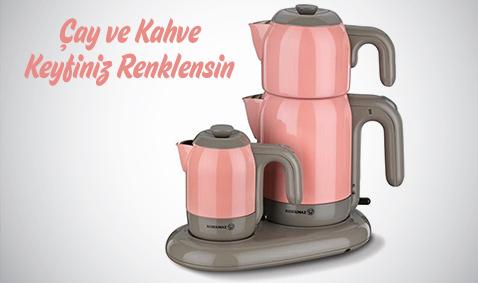 Çay ve Kahve Makineleri 39,99 TL'den Başlayan Fiyatlarla