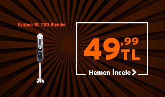 Fantom BL 700 Blender 49,99 TL