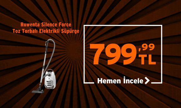 Rowenta RO6477 Silence Force Elektrikli Süpürge 799,99 TL