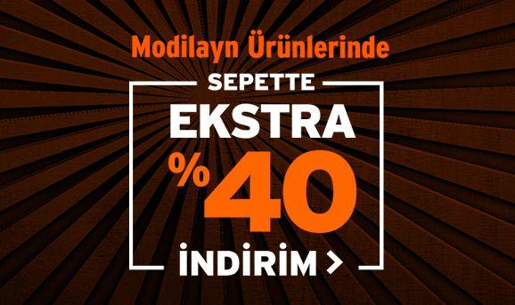 Modilayn Ürünlerinde Sepette %40 İndirim