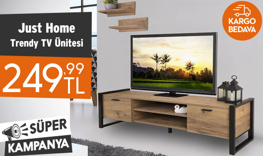 Just Home Trendy TV Ünitesi 249,99 TL