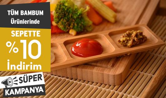 Tüm Bambum Ürünlerinde Sepette %10 İndirim