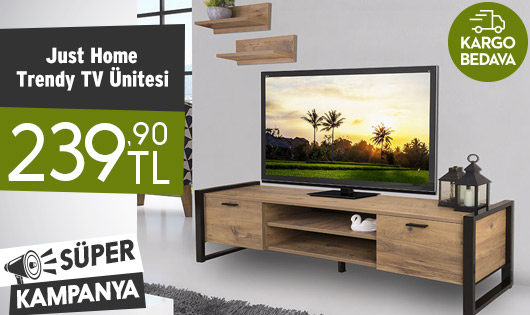 Just Home Trendy TV Ünitesi 239,90 TL