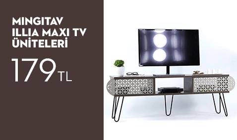 Mingitav Illia Maxi TV Üniteleri 179 TL