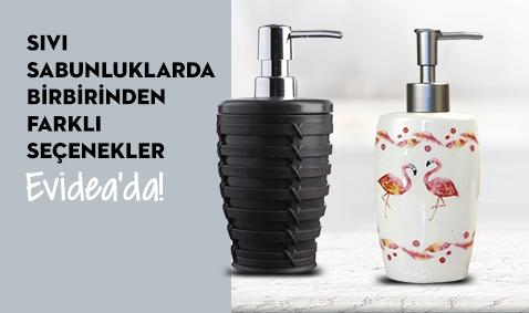 Sıvı Sabunluklarda Birbirinden Farklı Seçenekler Evidea'da