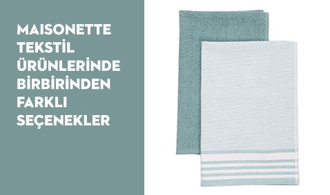 Maisonette Tekstil Ürünlerinde Birbirinden Farklı Seçenekler