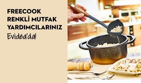 Freecook Renkli Mutfak Yardımcıları