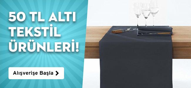 50 TL Altı Tekstil Ürünleri