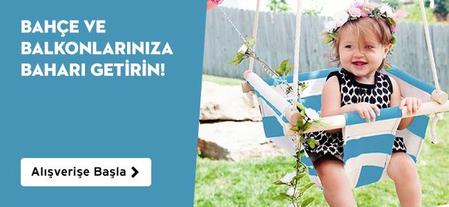 Bahçe ve Balkonlarınıza Baharı Getirin!