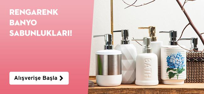 Banyo Sıvı Sabunluklarda 14,99 TL'den Başlayan Fiyatlar