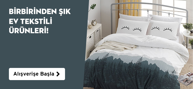 Birbirinden Şık Ev Tekstili Ürünleri