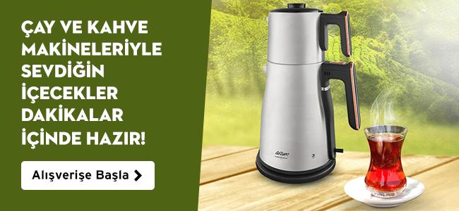 Çay ve Kahve Makineleriyle Sevdiğin İçecekler Dakikalar İçinde Hazır!