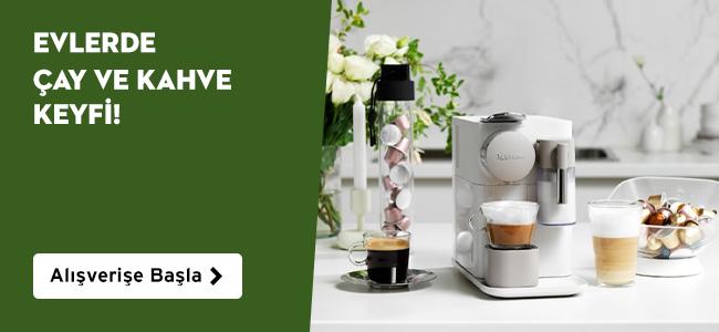 Evlerde Çay ve Kahve Keyfi