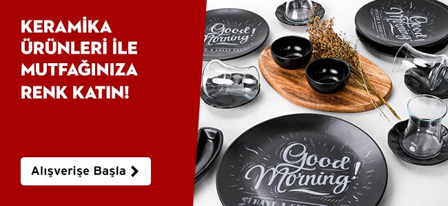 Keramika Ürünlerinde Birbirinden Farklı Seçeneklerle Mutfağınıza Renk Katın
