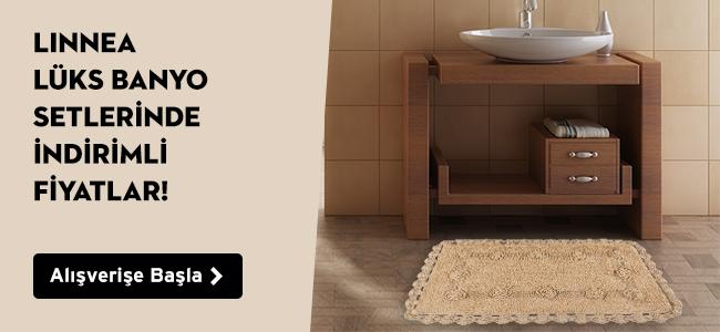 Linnea Lüks Banyo Setlerinde İndirimli Fiyatlar