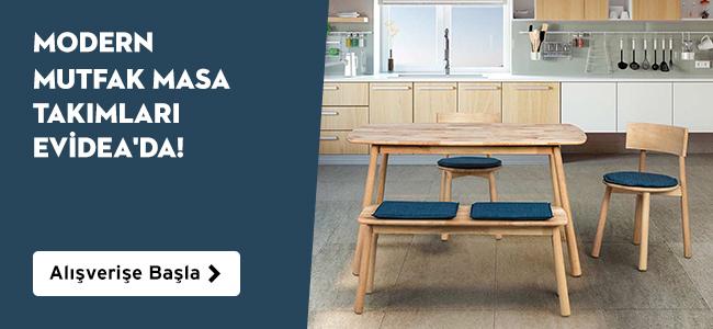 Modern Mutfak Masa Takımları Evideada