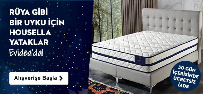 Rüya Gibi Bir Uyku İçin Housella Yataklar Evideada!