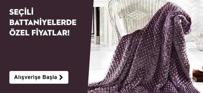 Seçili Battaniyelerde Özel Fiyatlar