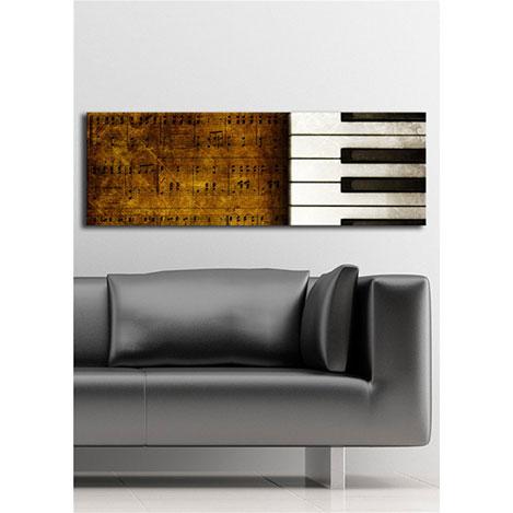 Özgül İçten Aydınlatmalı Canvas Tablo 17 - 30x90 cm