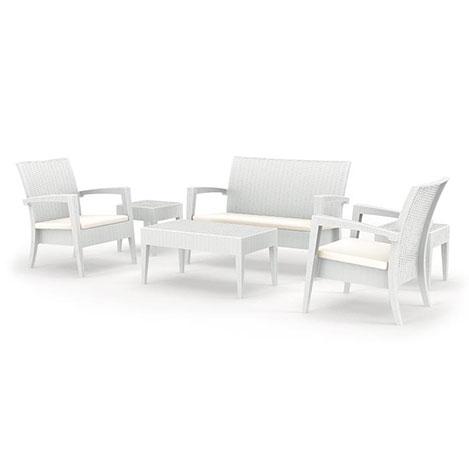Resim  Siesta Miami Set - Beyaz