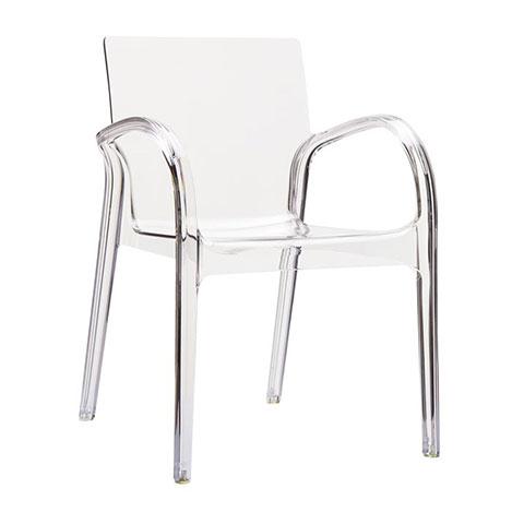 Siesta Dejavu Sandalye - Şeffaf