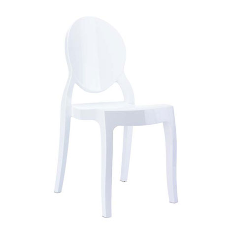 Resim  Siesta Baby Elizabeth Sandalye - Beyaz