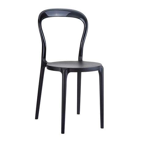 Resim  Siesta Mr Bobo Sandalye - Siyah Siyah
