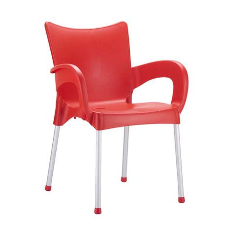 Siesta Romeo Sandalye - Kırmızı
