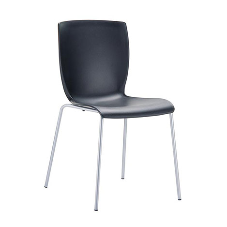 Resim  Siesta Mio Sandalye - Siyah