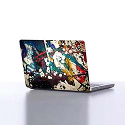 Dekorjinal DLP007 Laptop Sticker - 38x27 cm