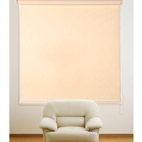 Rollen Krem Stor Perde - 110x200 cm