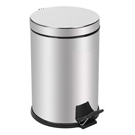 Alper Banyo Pedallı Çöp Kovası - 5 lt