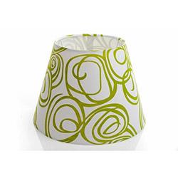 Limbo Desenli Kumaş Abajur Şapkası - XY-110901-04