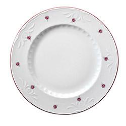 Kütahya Porselen Mina 24 Parça Yemek Takımı - Kırmızı