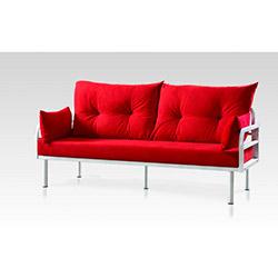 Sigma Tasarım Hira Koltuk Takımı (3+2+1) - Kırmızı