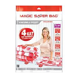 Magic Saver Vakumlu 7'Li Saklama Torbası