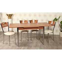 Kristal TK-24-CVZ/6 Yemek Masası Takımı (6 Sandalyeli) - Ceviz