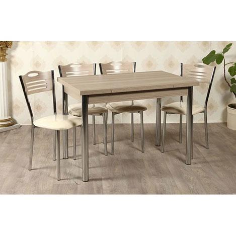 Kristal TK-24-CRD/4 Yemek Masası Takımı (4 Sandalyeli) - Cordoba