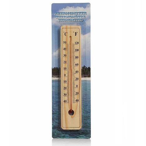 Practika T78YT0732 Ahşap Oda Termometresi