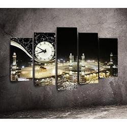Canvastime TMG52 Canvas Tablo Saat - 5 Parçalı