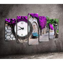 Canvastime TMG109 Canvas Tablo Saat - 5 Parçalı